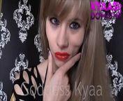 Caught In My Web Goddess Kyaa FEMDOM POV HUMILIATION from my pornsnap cat goddess 012