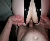 Latex/PVC/Leather Outfits - Big Ass MILF Has Her Bubble Butt Oiled, Tight Pussy Fingered Hard, Thick Ass Plugged And Thumbed And Cums Until She Can Take No More. Real Homemade Amateur Porn Pov Hardcore Couple from টিউশনি করতে গিয়ে ধর্ষন