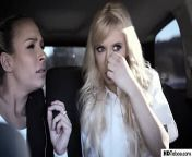 Older French Man tricked the naive BFFs - Kenzie Reeves and Carmen Caliente from trick