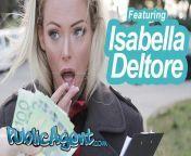 Public Agent Blonde Australian Isabelle Deltore Fucks a Stranger for Money from picha za watu wanao tombana n
