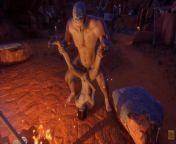 Wild Life Huge Guy Fucks Max at the Campfire from gay sex xx vid