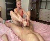 Foot job and Hand job.#Foot fetish. from xxx foot job