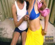 Desi Bhabhi fucked by Naukar Raju from aunties saree navel compilation